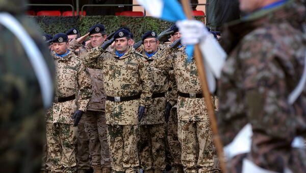 Las tropas de Eurocuerpo - Sputnik Mundo