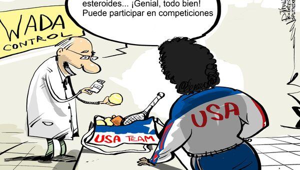 Al doping en EEUU lo llaman 'uso con fines terapéuticos' - Sputnik Mundo