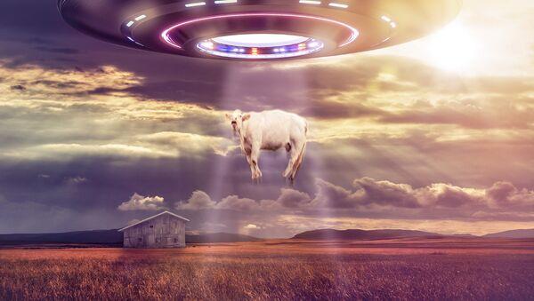 Un ovni (ilustración) - Sputnik Mundo