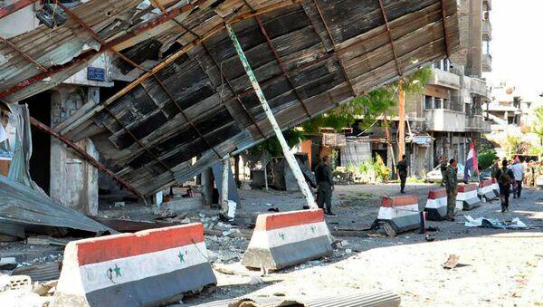 Situación en Homs (archivo) - Sputnik Mundo