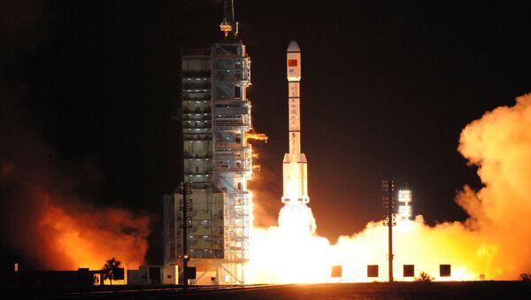 China lanza al espacio el laboratorio habitable Tiangong-2 - Sputnik Mundo