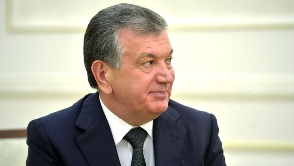Визит президента РФ В. Путина в Узбекистан - Sputnik Mundo