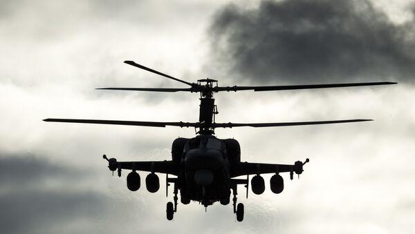 Un helicóptero ruso  (archivo) - Sputnik Mundo