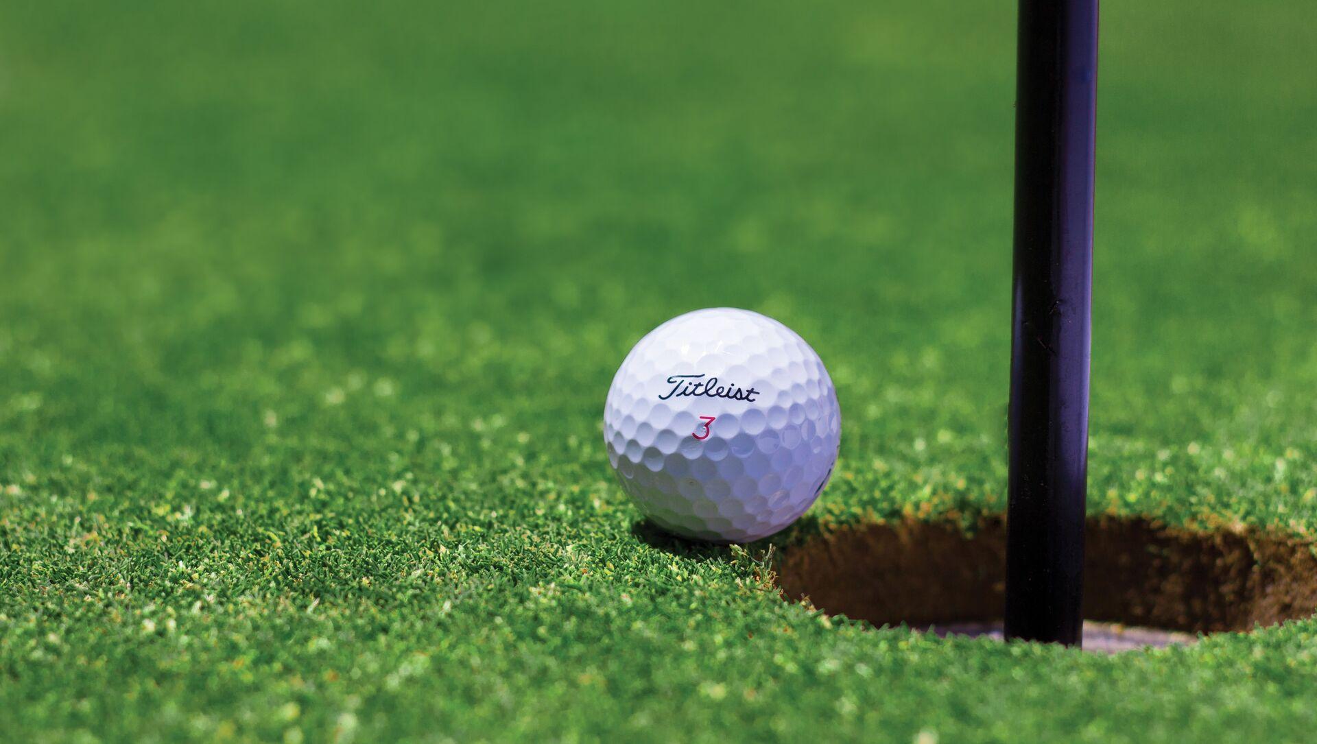 Pelota de golf - Sputnik Mundo, 1920, 11.11.2020