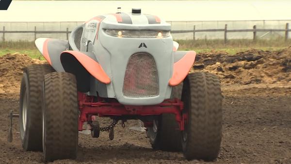 Ensayos del tractor no tripulado ruso - Sputnik Mundo