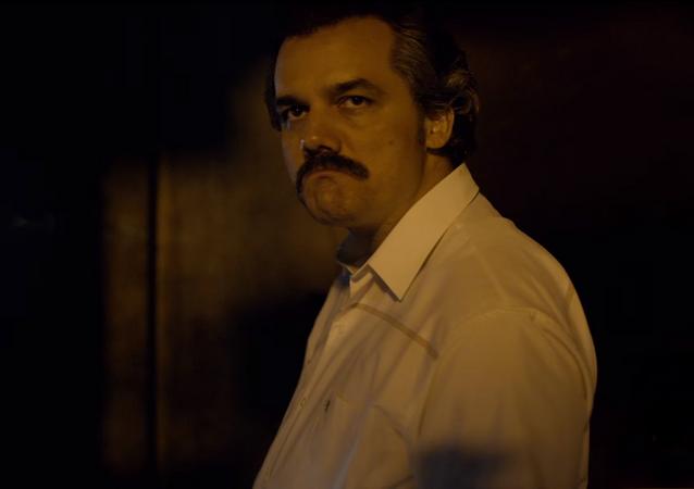 Wagner Moura ejecuta el rol de Pablo Escobar