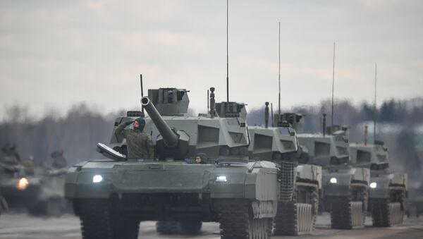 Tanque ruso T-14 Armata - Sputnik Mundo