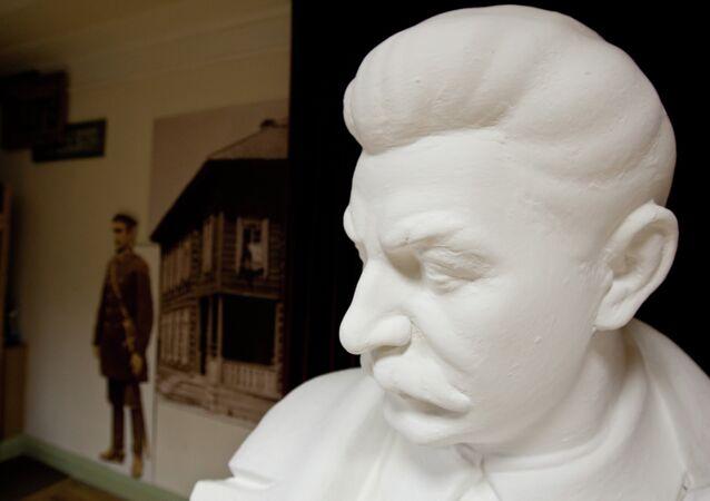 Busto de Stalin