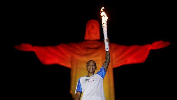 La antorcha olímpica de los JJOO de Río 2016 - Sputnik Mundo