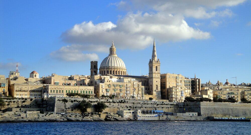 Valeta, la capital de Malta