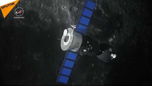 Una renovada nave espacial, 'Soyuz' (captura de pantalla) - Sputnik Mundo