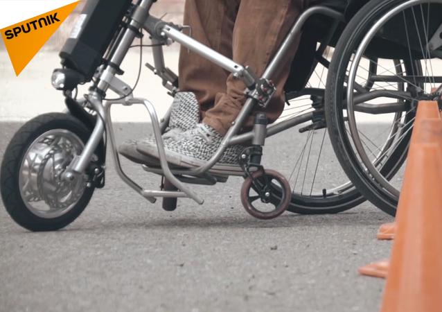 Crean en Rusia un revolucionario gadget para personas con discapacidad