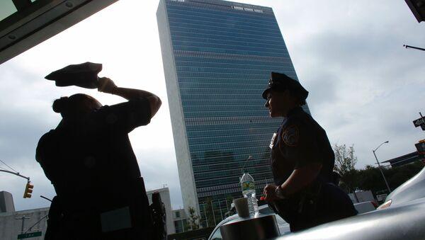Las policías de Nueva York después de la explosión del 17 de septiembre - Sputnik Mundo