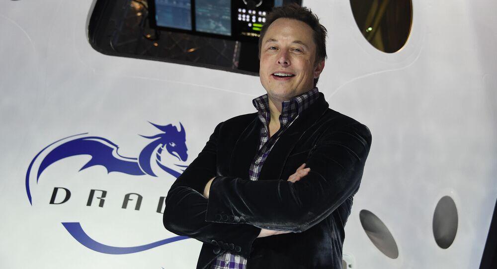 Elon Musk, director general de la empresa espacial SpaceX