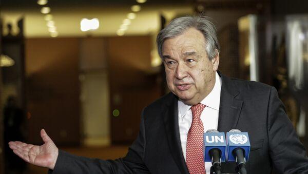 Antonio Guterres, secretario general de la ONU - Sputnik Mundo
