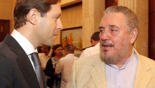 Fidel Ángel Castro Díaz-Balart, científico cubano - Sputnik Mundo