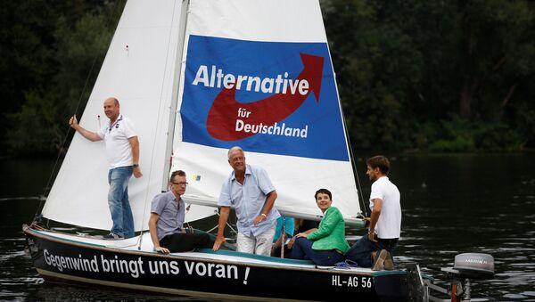Los miembros del partido Alternativa por Alemania en Berlín - Sputnik Mundo