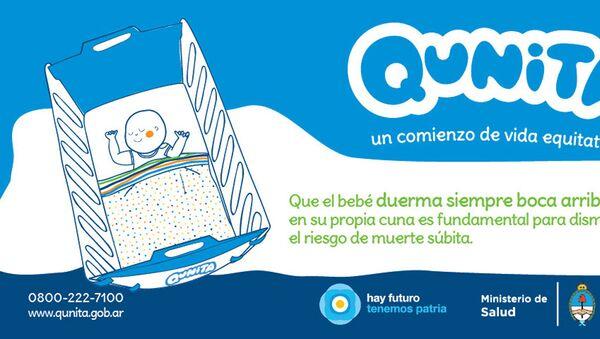 Carpeta de promoción de Kit Qunita - Sputnik Mundo