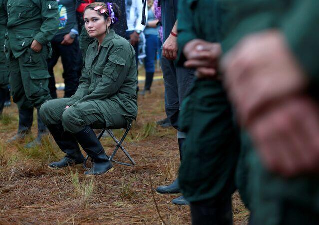 Combatiente de FARC