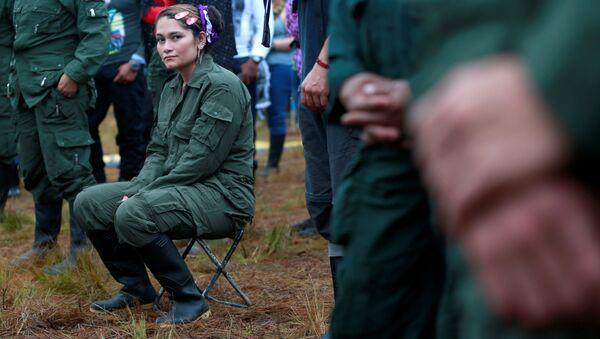 Combatiente de FARC - Sputnik Mundo