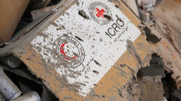 Logos de las Sociedades Nacionales de la Cruz Roja y la Media Luna Roja - Sputnik Mundo