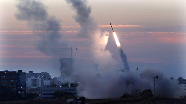 Misiles lanzados desde Israel - Sputnik Mundo