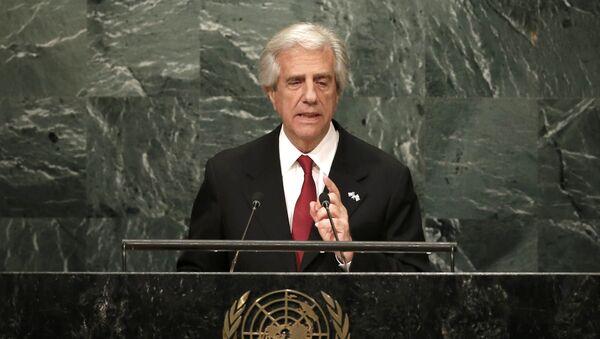 Tabaré Vázquez, el presidente de Uruguay - Sputnik Mundo