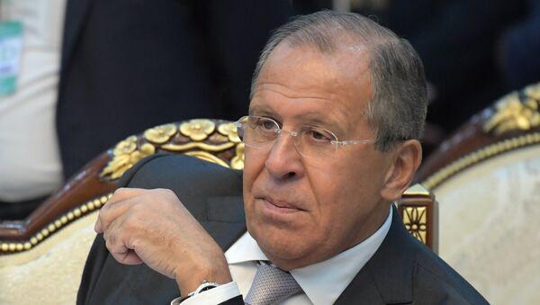 Seguéi Lavrov, ministro de Exteriores de Rusia - Sputnik Mundo