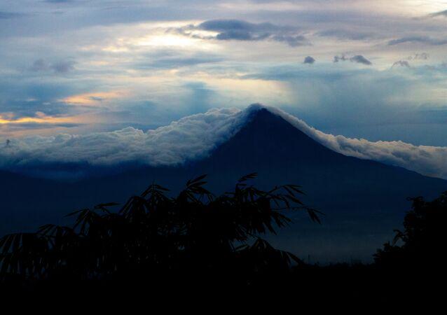 La isla indonesia de Java