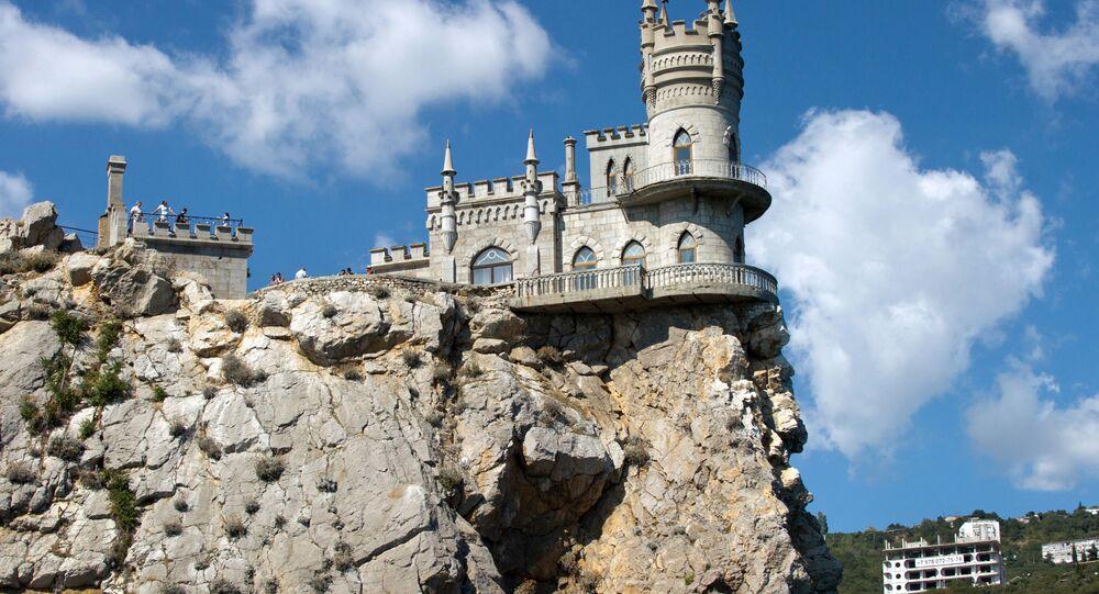 El castillo Nido de golondrina, Crimea