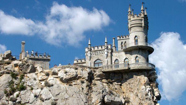El castillo Nido de golondrina, Crimea - Sputnik Mundo