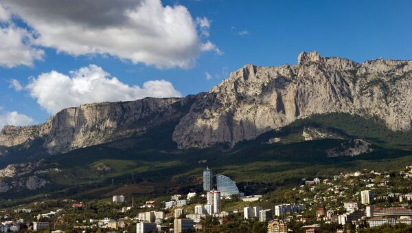 La montaña Ai-Petri, Crimea - Sputnik Mundo