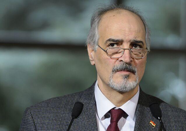 Bashar Jaafari, el embajador de Siria ante la ONU (archivo)
