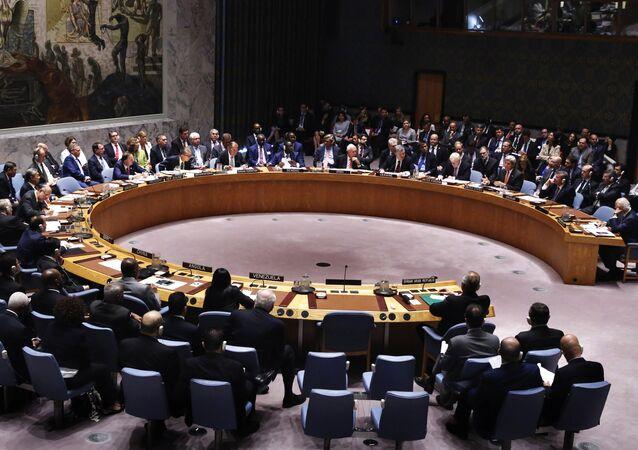 Consejo de Seguridad de la ONU en la sede en Nueva York (archivo)