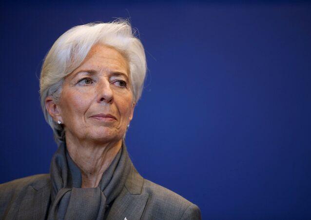 Christine Lagarde, directora ejecutiva del FMI