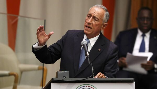 Marcelo Rebelo de Sousa, presidente de Portugal - Sputnik Mundo