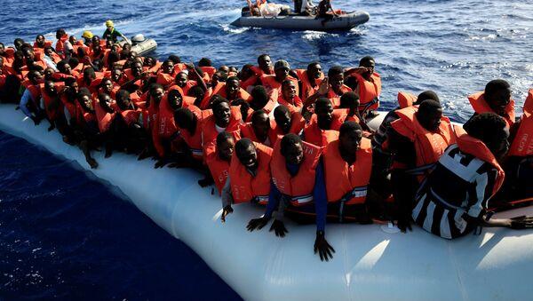 Los migrantes africanos - Sputnik Mundo
