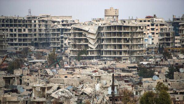 Ситуация в сирийском городе Дамаске - Sputnik Mundo
