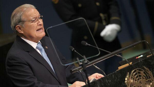 Salvador Sánchez Cerén, presidente de El Salvador - Sputnik Mundo