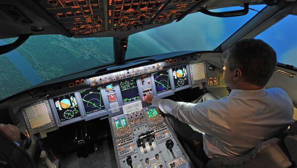 Centro de preparación de pilotos de Sukhoi Superjet 100 (archivo) - Sputnik Mundo