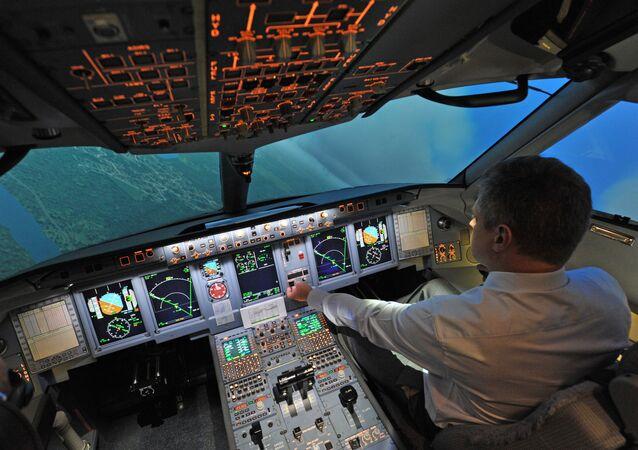 Centro de preparación de pilotos de Sukhoi Superjet 100 (archivo)