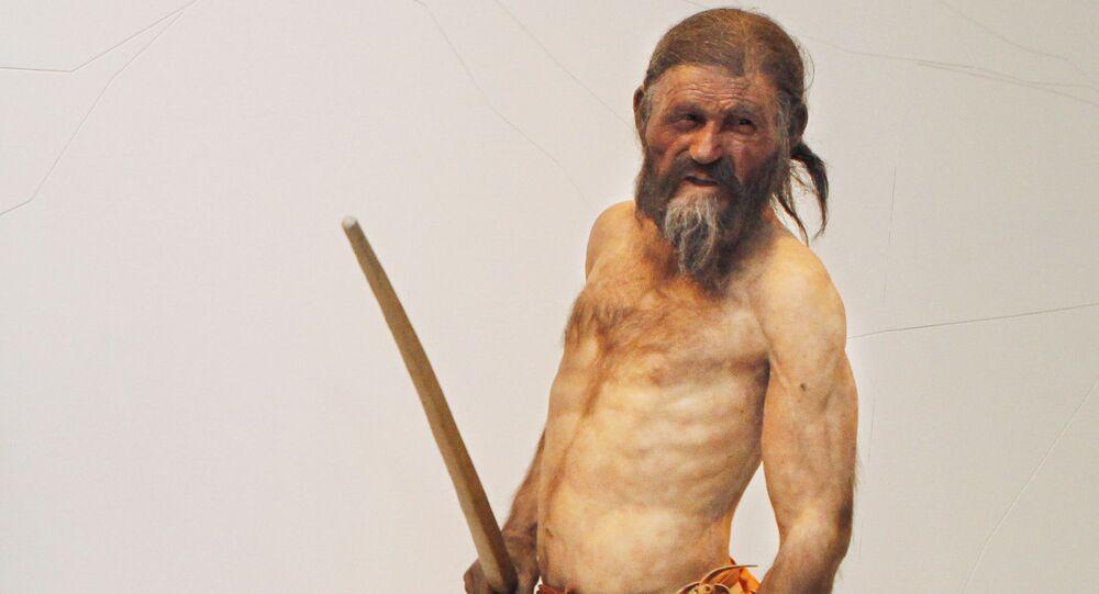 Ötzi, 'el hombre de hielo'