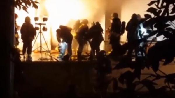 Incendio en el noreste de Moscú - Sputnik Mundo