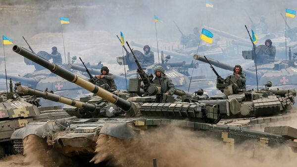 Tanques del Ejército ucraniano - Sputnik Mundo