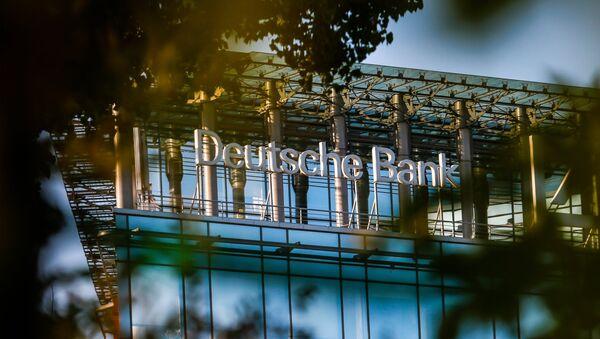 Deutsche Bank объявил о сворачивании в России бизнеса корпоративных услуг - Sputnik Mundo