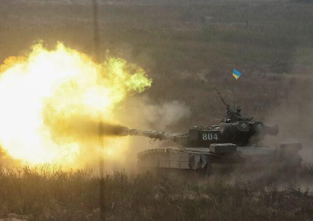 Un tanque ucraniano (archivo)