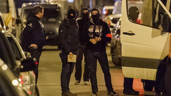 Policía de Bruselas (archivo) - Sputnik Mundo