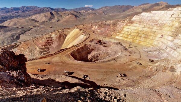 Una mina en Argentina - Sputnik Mundo
