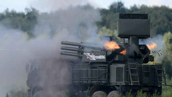 Pantsir-S1, sistema antiaéreo cañón-misil ruso - Sputnik Mundo
