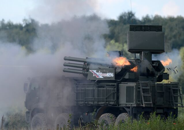 Pantsir-S1, sistema antiaéreo ruso